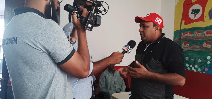 MST realiza coletiva de imprensa para denunciar o caso Fábio e debater a impunidade no campo