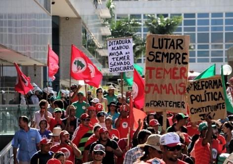 Movimentos denunciam governo golpista na retirada de direitos do campo