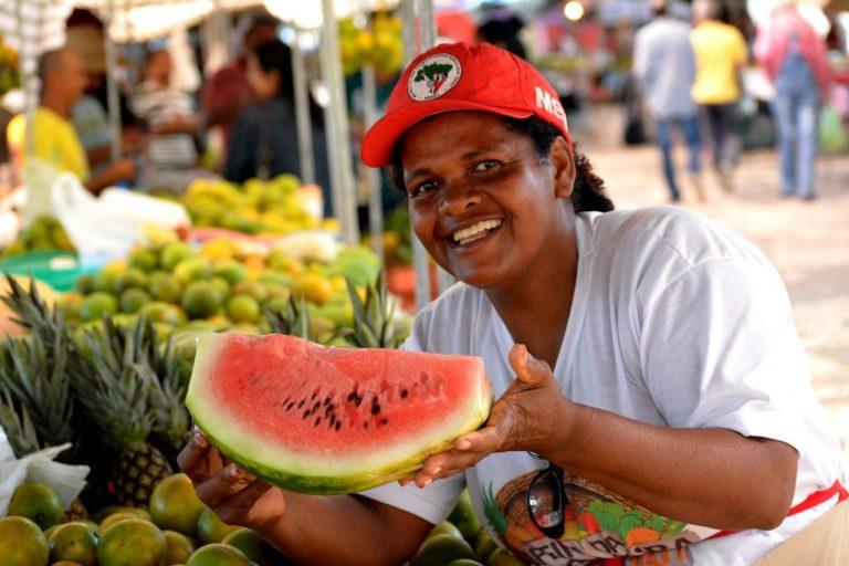Mais de 50 toneladas de produtos da Reforma Agrária foram comercializadas em Sergipe