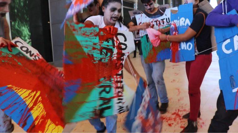grupo de Agitação e Propaganda realizada intervenção no STF
