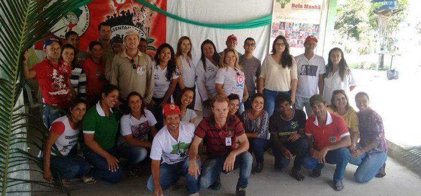 MST realiza mutirão de saúde no assentamento Bela Manhã, em Teixeira de Freitas