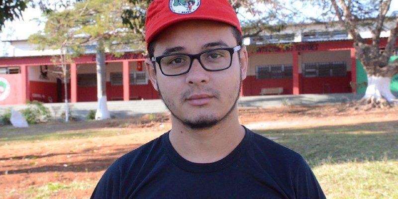 """""""O Acampamento Nacional insere a Juventude Sem Terra na luta política"""", destaca dirigente do MST"""