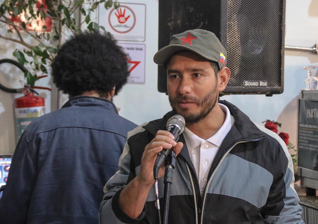 Márcio Santos, da coordenação nacional do MST..jpg