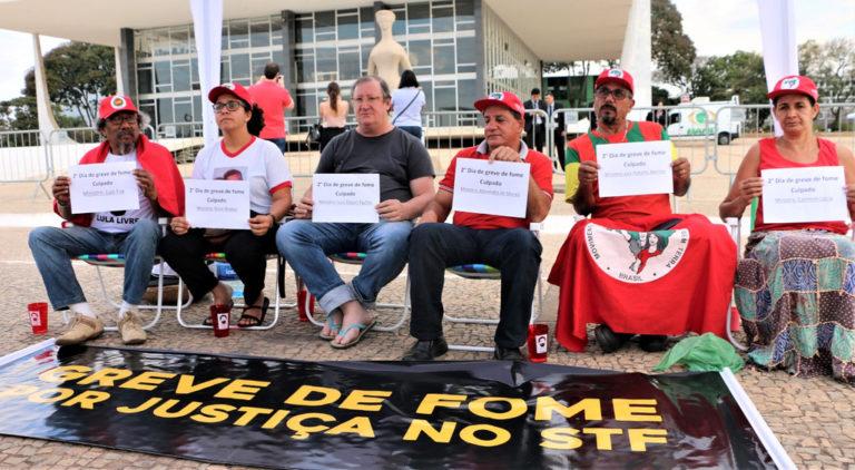 Uma semana de greve de fome: STF é responsável por vidas de militantes