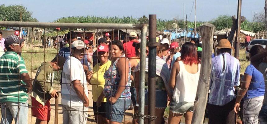 Reintegração de posse deixa trabalhadores rurais feridos