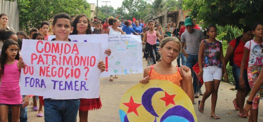 No Pará, Sem Terrinha encerram encontro de solidariedade e formação