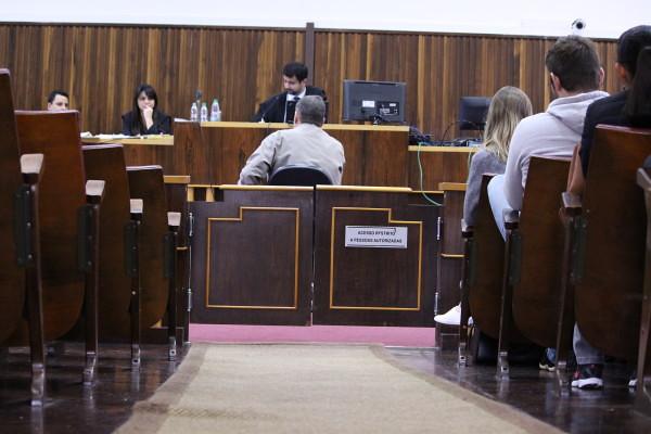 Testemunhas e réu são ouvidos durante júri popular do presidente da UDR