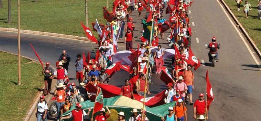 Marchar é uma forma de luta da classe trabalhadora em todo o mundo