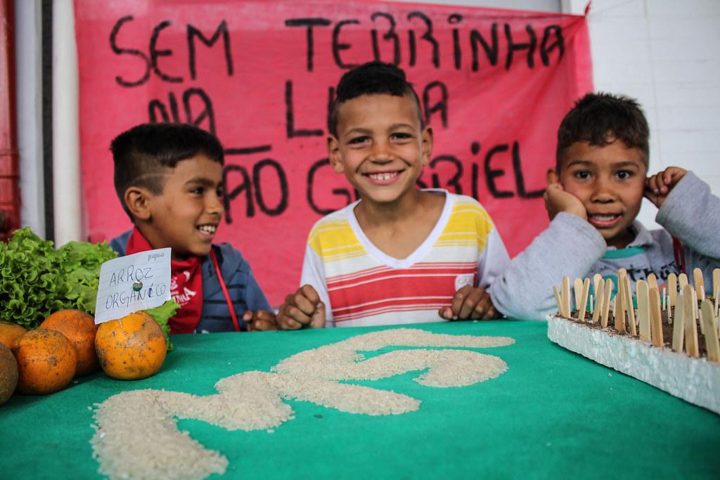 Estudo sobre a soberania alimentar marca abertura de Encontro dos Sem Terrinha
