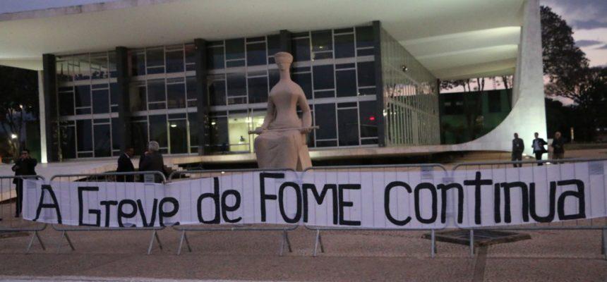 Por justiça no STF, Greve de Fome completa 22 dias
