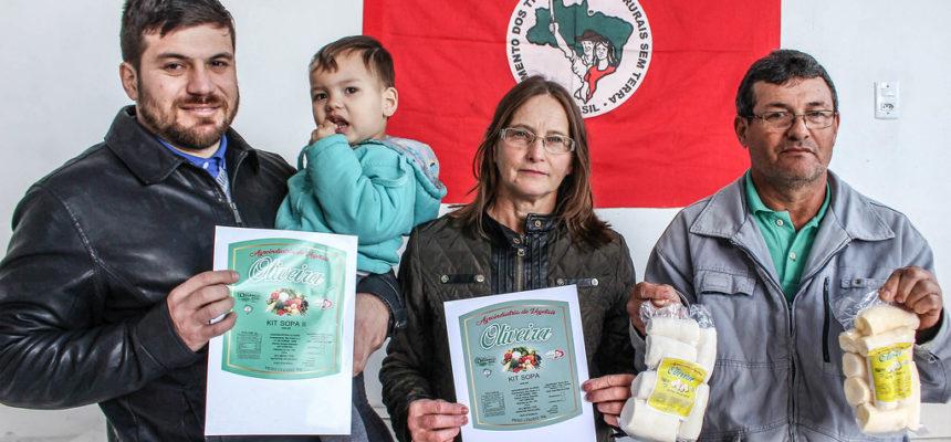 Família do MST conquista agroindústria vegetal no Rio Grande do Sul