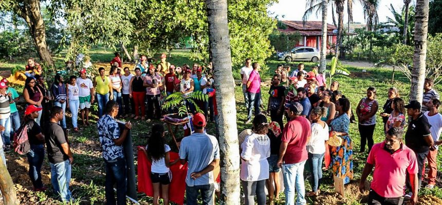 MST homenageia Paulo Kageyama no extremo sul da Bahia