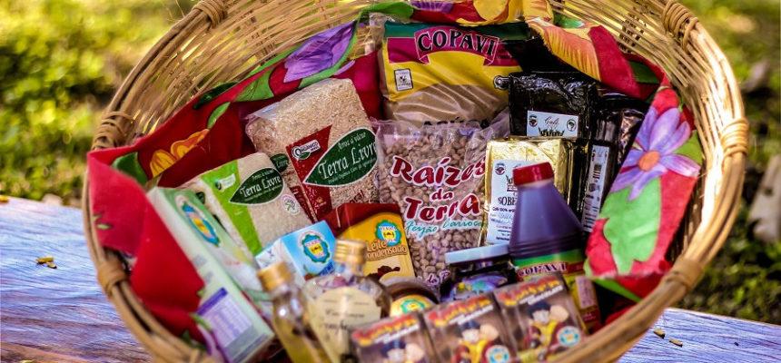 Cooperativa lança cesta de produtos da Reforma Agrária em Brasília