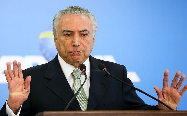 Movimentos populares preparam pedido de impeachment de Michel Temer