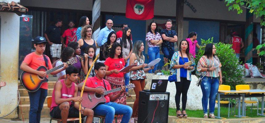 MST inaugura escola e homenageia a resistência negra no ES