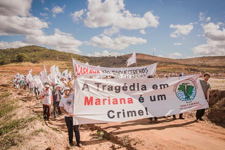 dizem atingidos sobre crime da Samarco