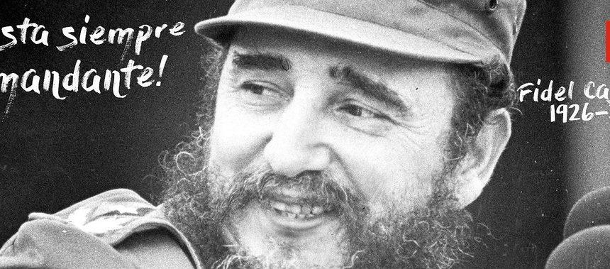 Vimos, ouvimos, sentimos e gritamos: viva el Comandante Fidel!