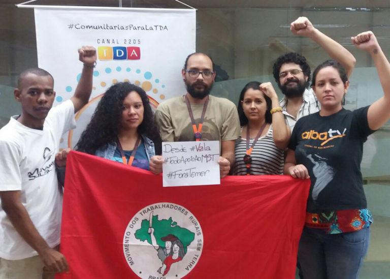 MST recebe solidariedade internacional de organizações e militantes