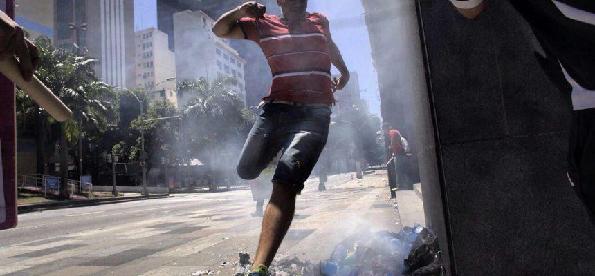 MST se solidariza com os trabalhadores reprimidos pela polícia no Rio de Janeiro
