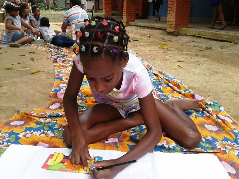 Crianças do MST participam de Encontro do Sem Terrinha no RJ