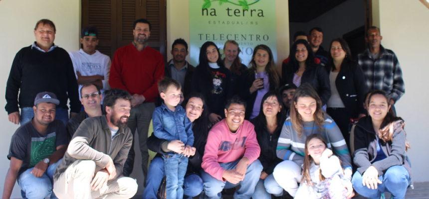 MST inaugura Telecentro Roça Nova no Rio Grande do Sul