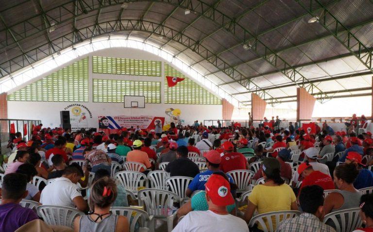 MST realiza encontro estadual no Ceará