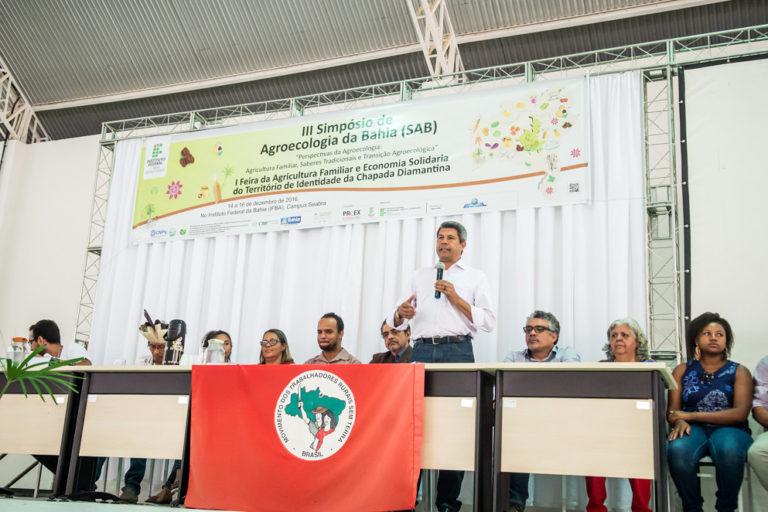 MST participa do 3º Simpósio de Agroecologia da Bahia na Chapada Diamantina