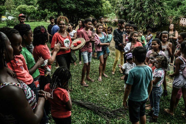 Crianças debatem Internacionalismo e alimentação saudável na Zona da Mata Mineira