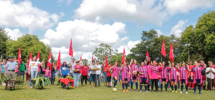 Campeonato da Reforma Agrária leva alegria e integração às famílias Sem Terra no RS