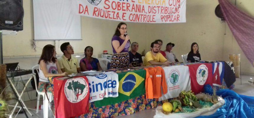 Sem Terra participam de Encontro Regional do MAB na Bahia