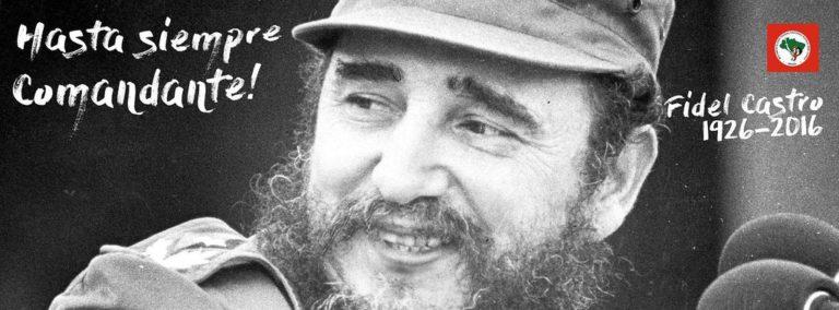 MST ressalta a importância do legado de Fidel para as gerações futuras