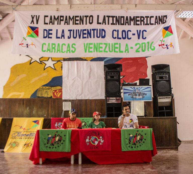 Acampamento Latinoamericano reúne jovens da CLOC - Via Campesina