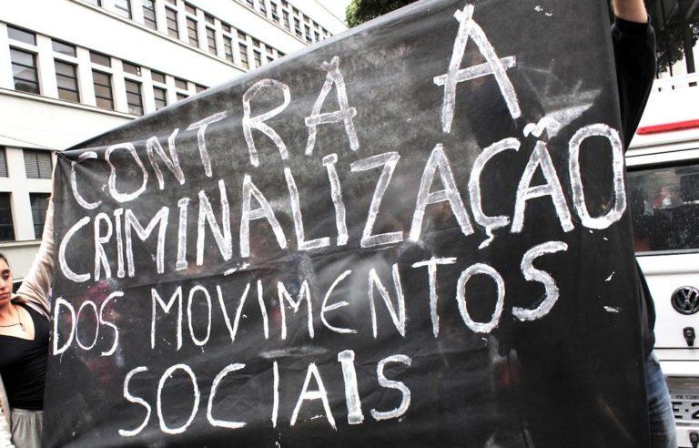 CDH da Câmara Distrital realiza ato contra criminalização dos movimentos populares
