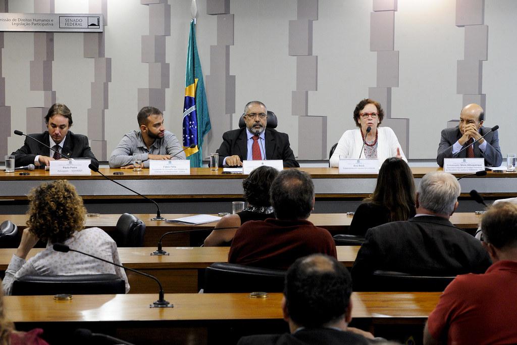 Audiencia pública no Senado debate efetivação e violação de direitos humanos. Foto Agência Senado .jpg