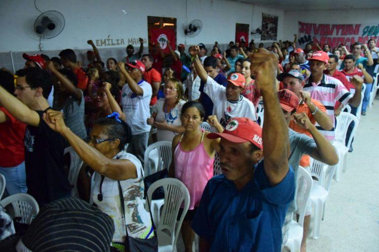 Encontro Estadual comemora 30 anos do MST em Sergipe