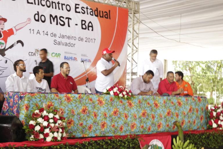 MST inicia o 29º Encontro Estadual na Bahia