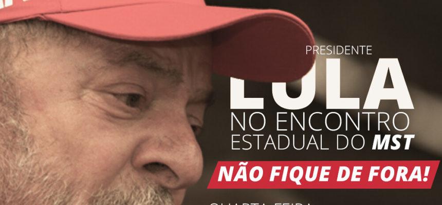Lula confirma presença no 29º Encontro Estadual do MST na Bahia