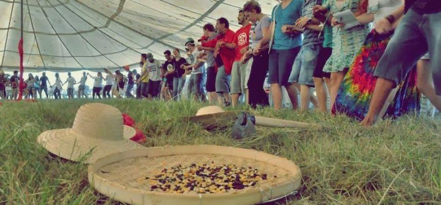 Annoni recebe 12º Acampamento da Juventude da Romaria da Terra