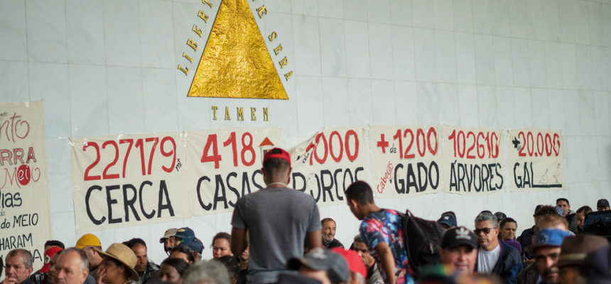 Autoridades defendem a permanência das famílias do acampamento Quilombo Campo Grande