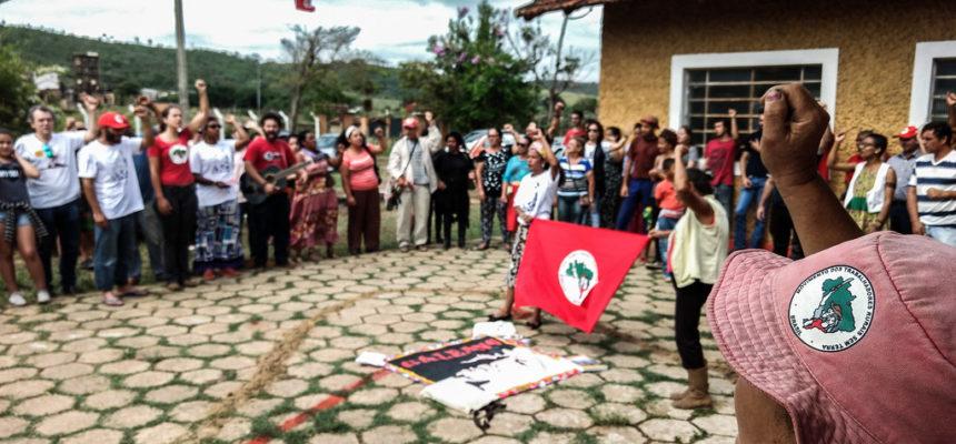 Governo Zema ataca escola do campo no acampamento Quilombo Campo Grande, em MG