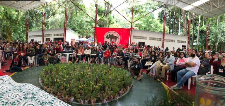 Solidariedade e resistência marcam encontro de amigos do MST na ENFF