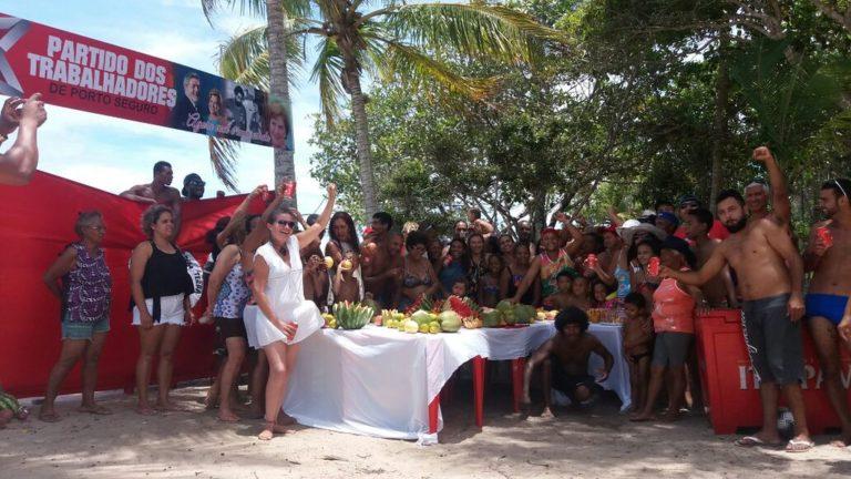 MST reúne a militância em confraternização no extremo sul da Bahia