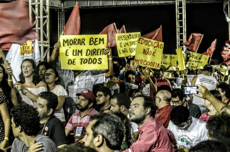 MST promove unidade das forças  em ato político no Ceará