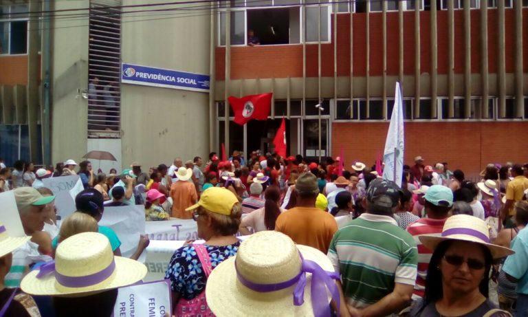 Mulheres camponesas se mobilizam em todo o estado de Pernambuco