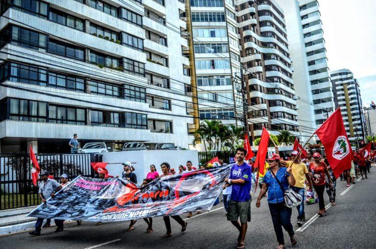 Mobilizações em Aracaju marcam a Jornada de Luta das Mulheres Camponesas em Sergipe