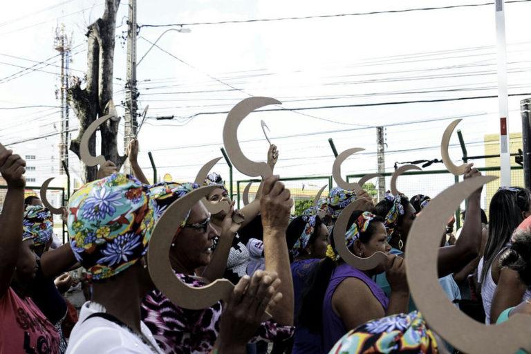 Mulheres se mobilizam em solidariedade a presa política do MST no Paraná