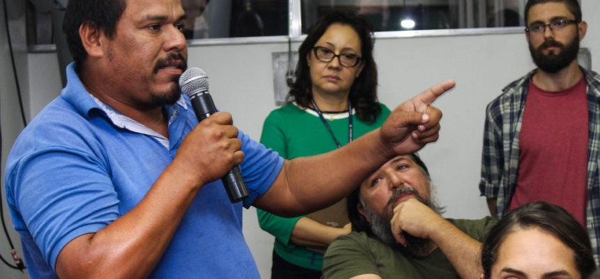 """Mina Guaíba: """"Somos contra, porque somos a favor da vida"""", afirma assentado"""