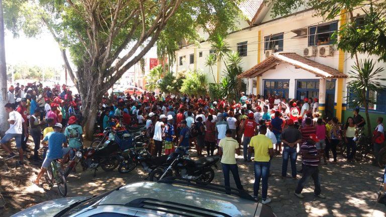 Juventude Sem Terra ocupa prefeitura em defesa da Educação do Campo