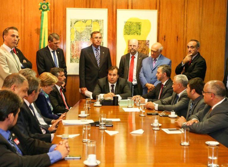 Poderes do RS realizam agendas em Brasília em defesa da compensação das perdas da Lei Kandir