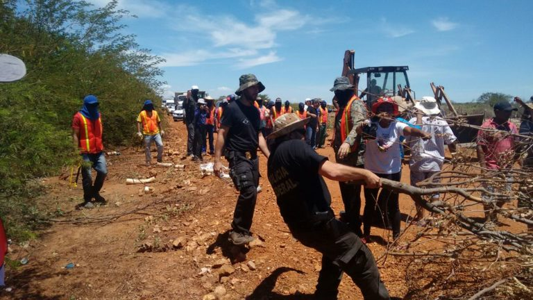 Acampamento do MST é invadido e tem irrigação destruída pela polícia